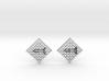 Chess Earrings - Bishop 3d printed
