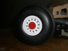 F-111 Main Wheel Hub V2 3d printed F-111 Painted wheel cover and hub.