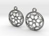Rosette type 2 [earrings] 3d printed