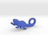 Chameleon Pendant (Small) 3d printed