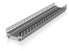 N Modern Concrete Bridge Deck Single Track 200mm 3d printed
