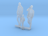 HO Scale Men and Boy 3 3d printed This is a render not a picture