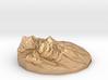 Ama Dablam, 2-inch in Bronze 3d printed