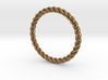 Ring Twisted US Size 7, 17.3 Mm 3d printed