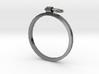 Horse Tie Ring - Sz. 9 3d printed