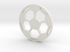 Soccer Ball - flat- filled 3d printed
