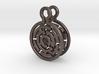 Maze Earrings 3d printed