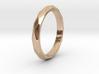 36 Facet Stacker Ring 3d printed