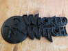 Wicked Witch Software logo 3d printed