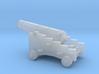 1/96 Scale 12 Pounder Naval Gun 3d printed