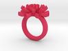 Sea Anemone Ring 18.5mm 3d printed