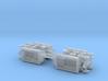 M23 Ammo Trailer 1/200 3d printed