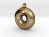Split Torus pendant  3d printed