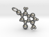 Theobromine Necklace (small) 3d printed