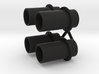 Exhaust Pipes Wellcraft SC38 3d printed