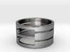 50 slot ring Ring Size 7 3d printed