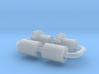N Scale Bachmann Doodle Bug Axle Repair Kit 3d printed