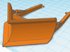 1/87th V Fire Forestry Blade for Dozer 3d printed