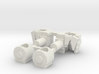 Hands for TF CW Deluxe Prowl wrist Rototation 3d printed
