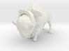 O Scale Bison with Harness 3d printed This is a render not a picture