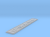 Nameplate CF-104 Starfighter 3d printed