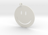Happy face charm 3d printed