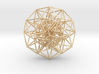 6D Cube in its Toroidal form - 50x1mm - 64 vertex 3d printed