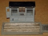 N-Scale Grain Scale & Shack 3d printed Painted Production Sample