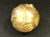 Golden Snitch (Solid Metal) 3d printed Photo by rjlacombe