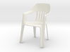 Pizza Chair (To go with your Pizza Table) 3d printed