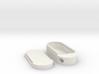 Keychain Pill Box 3d printed
