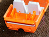M.A.S.K. Gator Speedboat Turbine 3d printed Photo of unpainted prototype, printed in Orange Strong & Flexible Polished