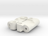 D2 Dyna Blaster / Dyna Storm / TR-15T reinforced 3d printed 3mm Hingepin Version