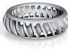 Cut Helix Ring 3d printed
