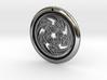 Hangarite Pendant ~ version 3 - 35mm diameter 3d printed