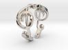 Treble Clef Ring (Size 5)  3d printed