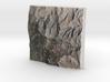 San Jacinto Peak, California, USA, 1:150000 3d printed
