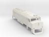 Z Scale EMD F40PH Shell 3d printed