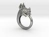 Happy Rhino ring size 6.5 3d printed