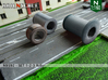 1-2-3 Rollers | Without pattern (N 1:160) 3d printed