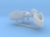 GUPPY and Fleet Snorkel sonar accoutrements, 1/350 3d printed