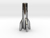 V2 Rocket Cigarette Stubber 3d printed V2Rocket Cigarette Stubber in premium silver