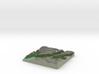 Terrafab generated model Wed Aug 06 2014 16:45:12  3d printed