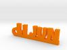 LI JUN_keychain_Lucky 3d printed