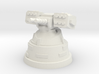 Torpedo Launcher Turret 3d printed White Strong & Flexible