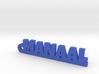 MANAAL_keychain_Lucky 3d printed