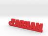 FARHAN_keychain_Lucky 3d printed