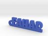 FAHAD_keychain_Lucky 3d printed