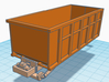 1/50th Roll Off Truck Body frame 3d printed Shown with dumpster