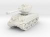 M4A3E8 Sherman 76mm 1/120 3d printed